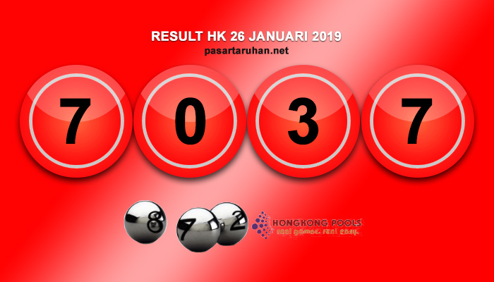 RESULT HONGKONG 26 JAN 2019