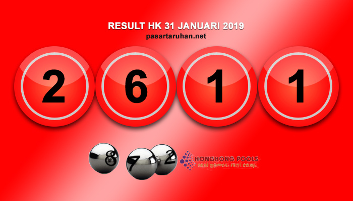 RESULT HONGKONG 31 JAN 2019
