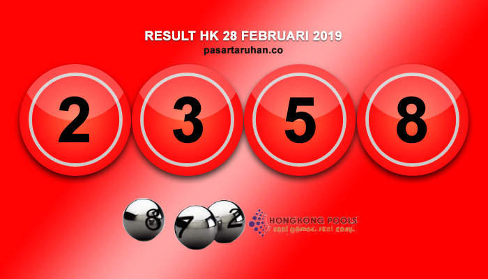 RESULT HONGKONG 28 FEB 2019