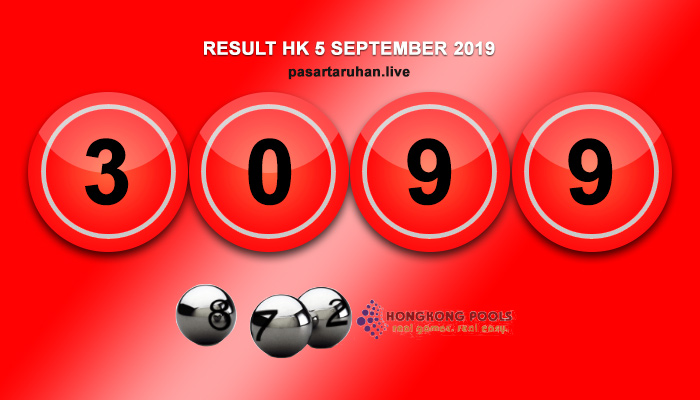 RESULT HONGKONG 5 SEPTEMBER 2019