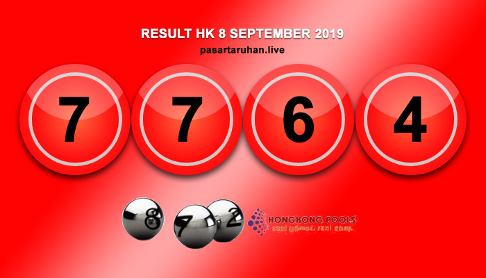 RESULT HONGKONG 8 SEPTEMBER 2019