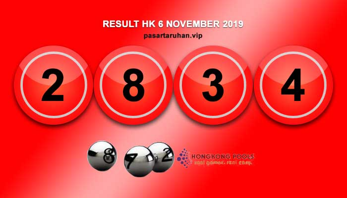 RESULT HONGKONG 6 NOVEMBER 2019