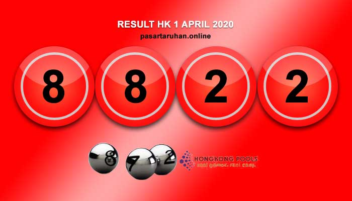 RESULT HONGKONG 1 APRIL 2020