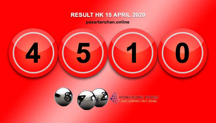 RESULT HONGKONG 15 APRIL 2020