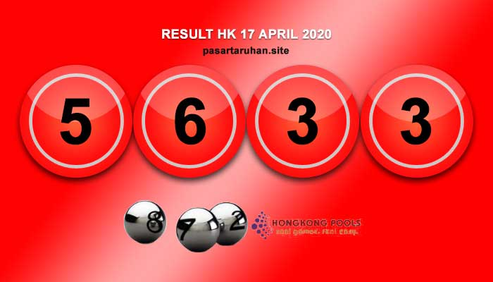RESULT HONGKONG 17 APRIL 2020
