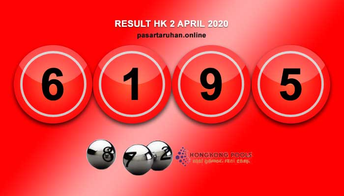 RESULT HONGKONG 2 APRIL 2020