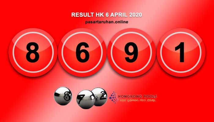 RESULT HONGKONG 6 APRIL 2020