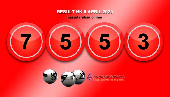 RESULT HONGKONG 9 APRIL 2020